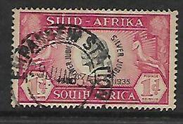 S.Africa EMPANGENI STATION 29 JUN 35, 1d Silver Jubilee, Single - Zuid-Afrika (...-1961)