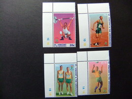 ST. VINCENT The GRENADINES 1996 Jeux Olympiques D' étè à Atlanta Yvert  2903 / 2906 ** MNH - Verano 1996: Atlanta