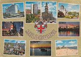 MELBOURNE - Carte Multivues - - Melbourne