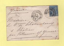 Fontenay Tresigny - Seine Et Marne - OL Origine Locale - Sans Correspondance - 1877-1920: Période Semi Moderne