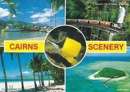 CAIRNS  Scenery - Paysages De Cairns - Carte Multivues - - Cairns