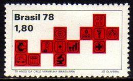 Brasil C 1075 Cruz Vermelha 1978 NNN - Brasilien