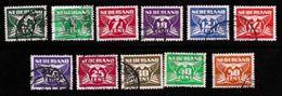 NEDERLAND 1941 Vliegende Duif 379-391 Used  # 1139 11 Values Only - Period 1891-1948 (Wilhelmina)
