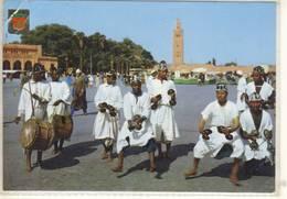 MARRUECOS TIPICO  MAROC TYPIQUE FOLKLORE - Postcards