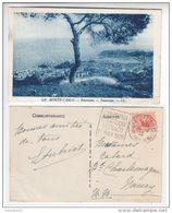 "Rare Flamme Daguin ""Exposition Philatélique Monaco 1928"" Frappe Superbe Cp Monte-carlo - Postmarks"