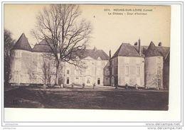 MEUNG SUR LOIRE LE CHATEAU COUR D'HONNEUR - France