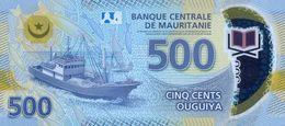 MAURITANIA P. NEW SET 50/500 2017 (4 Billets) UNC - Mauritania