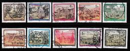 AUSTRIA, Various Years, Cancelled Stamp(s), 10 Stamps Touristic Landscapes  , #4164 - 1945-.... 2nd Republic