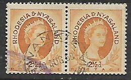 Rhodesia & Nyasaland,WANKIE 30 AUG 60 C.d.s. - Rhodesia & Nyasaland (1954-1963)