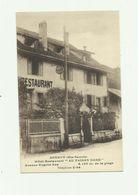 74 - ANNECY - Hotel Restaurant Au Faisan Doré Avenue Eugene Sue Bon état - Annecy