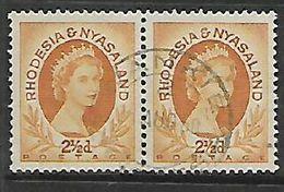 Rhodesia & Nyasaland,WANKIE 31 AUG 60 C.d.s. - Rhodesia & Nyasaland (1954-1963)