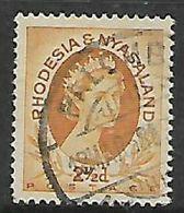Rhodesia & Nyasaland,PALOMB(O)  18 MAR 58 C.d.s. - Rhodesia & Nyasaland (1954-1963)