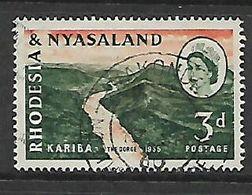 Rhodesia & Nyasaland,MAKONDE NORTHERN RHODESIA  17 SP 60 C.d.s. - Rhodesia & Nyasaland (1954-1963)