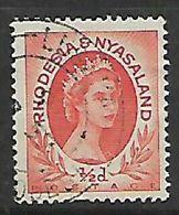 Rhodesia & Nyasaland,LUSAKA ...570 C.d.s. - Rhodesia & Nyasaland (1954-1963)
