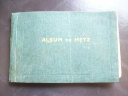 Carnet De Cartes Postales Anciennes De Metz - Offert Par La Maison Fabre, Graines - Metz
