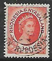 Rhodesia & Nyasaland,  KASAMA NORTHERN RHODESIA  30 AP 59  C.d.s. - Rhodesia & Nyasaland (1954-1963)