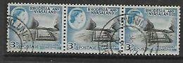 Rhodesia & Nyasaland, MWINILUNGA NORTHER(N RHODESIA) 24 AP 56  C.d.s. - Rhodesia & Nyasaland (1954-1963)
