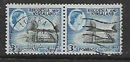 Rhodesia & Nyasaland, LUSAKA 2 FEB 1962  C.d.s. - Rhodesia & Nyasaland (1954-1963)