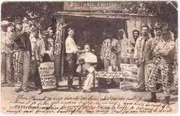 CPA CHARENTE.CAMP DE LA BRACONNE.LE BARBIER - Autres Communes