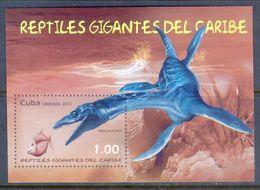 A223- Cuba 2013. Giant Reptiles Of The Caribbean. - Reptiles & Amphibians