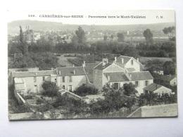 CPA (78) Yvelines - CARRIERES SUR SEINE - Panorama Ver Le Mont-Valérien - Carrières-sur-Seine