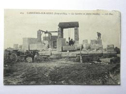 CPA (78) Yvelines - CARRIERES SUR SEINE - La Carrière De Pierre - Carrières-sur-Seine