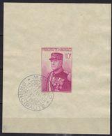 Monaco BF N° 1, Oblitération Monaco 17 Janvier 1938 - Blocchi