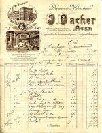 47.AGEN.DROGUERIE MEDICINALE.HERBORISTERIE.J.NACHER 54 BOULEVARD DE LA REPUBLIQUE - Chemist's (drugstore) & Perfumery