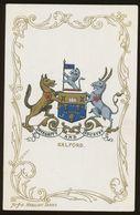 Ja Ja Heraldic Series Postcard : Salford (coat Of Arms, Crest) +/- 1905 - United Kingdom