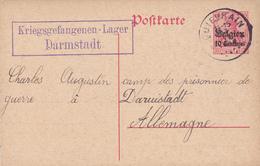 Entier Postal Belgique, Poste Militaire, Scan R/V. - Zona Belga