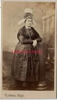 A Voir-CDV Femme Avec Grande Coiffe Régionale-maison Rideau Quai De Caligny à Cherbourg - Photos