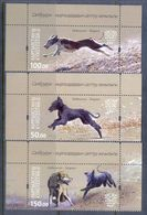 A233- Kyrgyzstan 2016. Salbuurum. Traditional Kyrgyz Hunting, Taigans, Dogs, - Stamps
