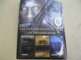 Liberia International Year Of Fresh Water - Liberia