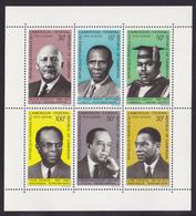 CAMEROUN BLOC N°    6 ** MNH Neuf Sans Charnière, TB (CLR198) Ecrivains Noirs Et Pro-noirs - Cameroon (1960-...)