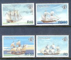 A242- Seychelles 1999. Le Cheval Marin French Traiding Vessel Bateau A Voile NAVIRE. - Ships