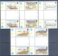 A245- South Georgia And South Sandwich Islands 1999. Transport. Ships & Boats. Religion. Churches Temples - Ships