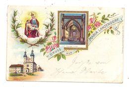 A 2326 MARIA-LANZENDORF, Gruss Aus... Lithographie, 1898 - Bruck An Der Leitha