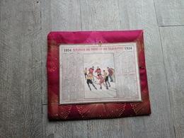 Calendrier Almanach Des Postes 1934 Hochey Sur Glace Sport - Calendars