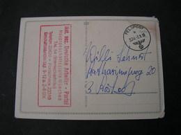 DR München 1939 Feldpost Dt. Arbeiterpartei - Allemagne