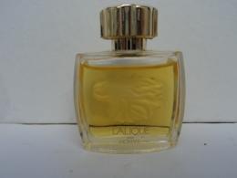 """LALIQUE ;""""LALIQUE: LE LION """" MINI EDP 4,5 ML PLEINE   LIRE ET VOIR!! - Miniatures Modernes (à Partir De 1961)"""