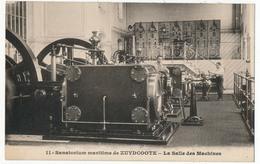 CPA - ZUYDCOOTE (Nord) - Sanatorium Maritime De Zuydcoote - La Salle Des Machines - Altri Comuni