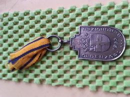 Medaille / Medal - Oldenzaal Berghuizen 1-juli 1955 - Netherland