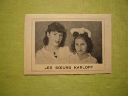 Petite Photo Imprimée Pub Les Soeurs Karloff Artistes De Cirque 8X12 Cm - Publicités
