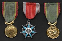 Lot De 3 Médailles - - France