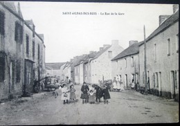 44  St GILDAS Des BOIS  Rue De La GARE 1915  SEVERAC  PONTCHATEAU  MISSILLAC DREFFEAC - Otros Municipios
