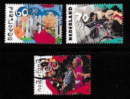 Nederland 1991 Kinder Zegels Gebruikt 1483-1485 # 1296 - Period 1980-... (Beatrix)
