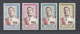 LAOS. YT  75/78 Neuf ** Avènement Du Nouveau Roi 1962 (voir Scan) - Laos