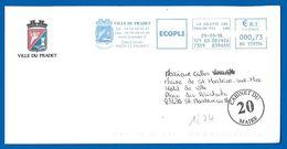 Mairies De France - (1674) 83220 LE PRADET - 29 01 2018 - Marcophilie (Lettres)