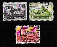 DENMARK, 1944, Used Stamp(s), Churches,  Mi 282-284 #10052, - 1913-47 (Christian X)
