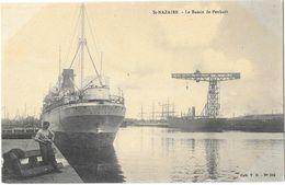 SAINT NAZAIRE PENHOET (44) Chantiers Grue Paquebot La Loire - Saint Nazaire